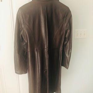 Lamb skin leather coat from Danier